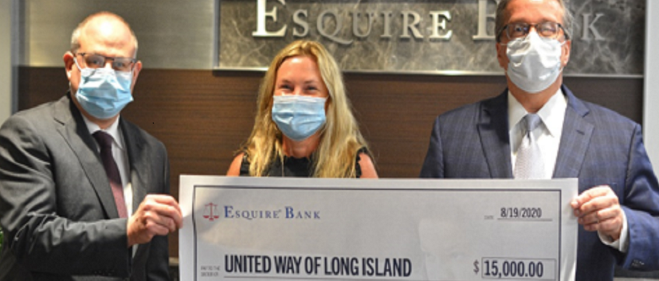 Esquire Bank Donates $125,000 to Support Long Island Food Banks